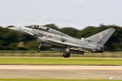 RAF Typhoon T1 ZJ813 29 Sqn