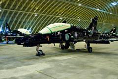 Hawk T2 ZK020 in storage at RAF Shawbury