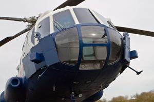 QinetiQ Mil Mi-17-Mk1V ZB697 flight deck armour