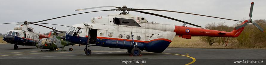 QinetiQ Project CURIUM - Mi-17