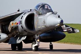 4 Sqn Harrier GR9 ZD375