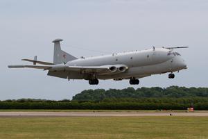 RAF Nimrod R1 XV249 - 51 Sqn - landing photo