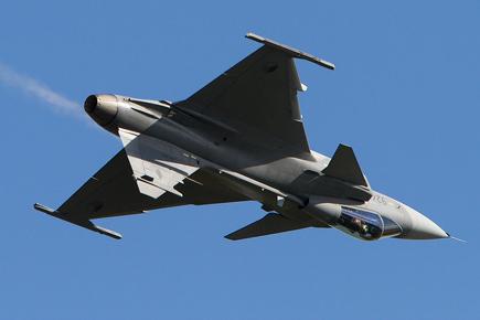 Czech JAS39C Gripen Display - Waddington 2010 - photo 02