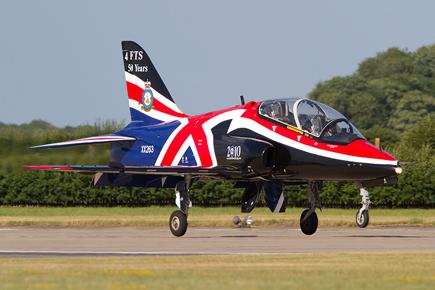 RAF Hawk Display - Waddington 2010 - photo 02