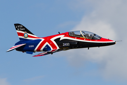 RAF Hawk Display - Waddington 2010 - photo 03