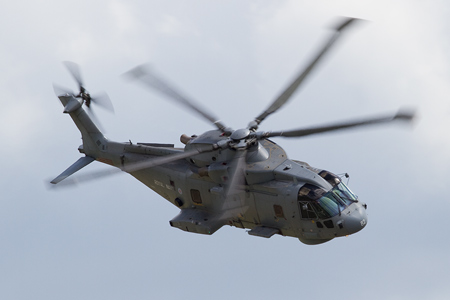 Royal Navy Merlin Display - Waddington 2010 - photo 02