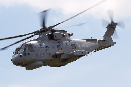 Royal Navy Merlin Display - Waddington 2010 - photo 03