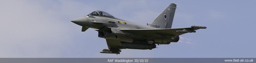 RAF Waddington - Typhoon Air Power Display