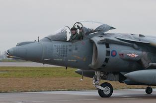 RAF Harrier GR9A ZD433