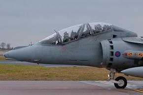 RAF Harrier T12 ZH659 4 Sqn photo 1