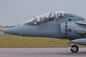 RAF Harrier T12 ZH665 4 Sqn photo 1