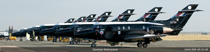 RAF Cranwell - Dominie Retirement - 20th January 2011