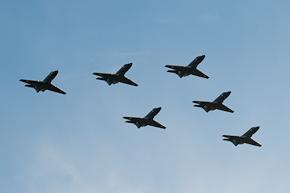 RAF Dominie T1 line up photo 3