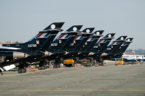 RAF Dominie T1 line up photo 4