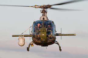 AAC Gazelle AH1 ZB683 with MX-15 photo-1