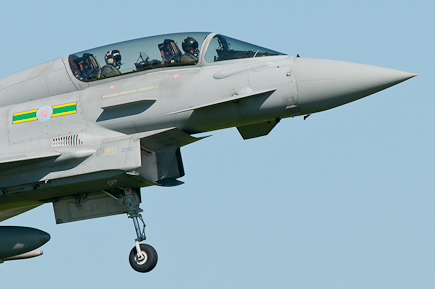 RAF Typhoon T1 ZJ814 - 3 Sqn