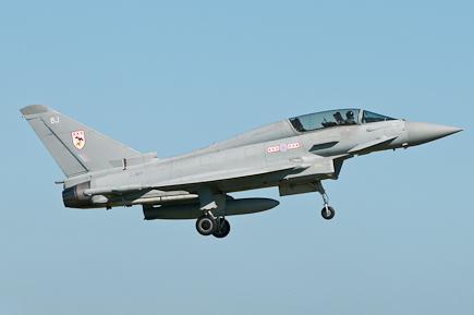 RAF Typhoon T3 ZJ801 - 29(R) Sqn