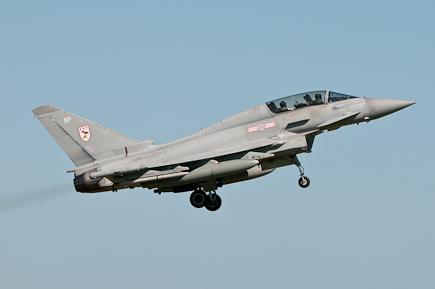 RAF Typhoon T3 ZJ811 - 29(R) Sqn