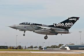 RAF Tornado GR4 1,000,000 Hour Special Photo 2