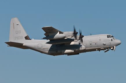 US Marine KC-130J 167108