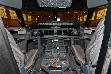 RAF Sentinel R1 ZJ694 Cockpit