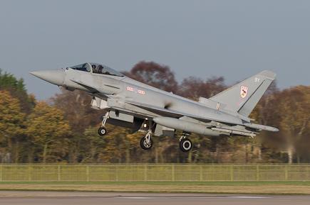 RAF Typhoon FGR4 ZJ915 29(R) Sqn
