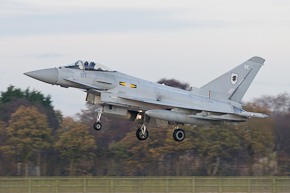 RAF Typhoon FGR4 ZJ919 11 Sqn