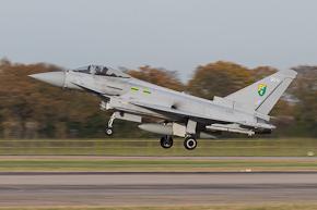 RAF Typhoon FGR4 ZJ921 3 Sqn