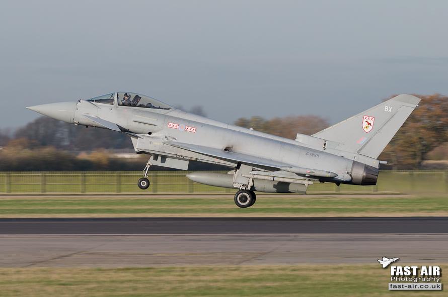 RAF Typhoon FGR4 ZJ928 29(R) Sqn