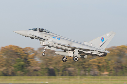RAF Typhoon FGR4 ZK307 6 Sqn