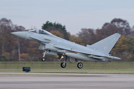 RAF Typhoon FGR4 ZK325