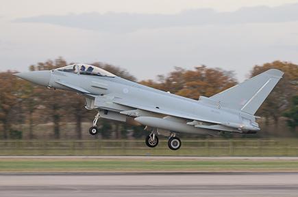 RAF Typhoon FGR4 ZK326