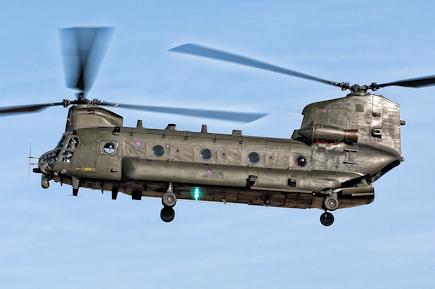 RAF Chinook HC2 ZA707