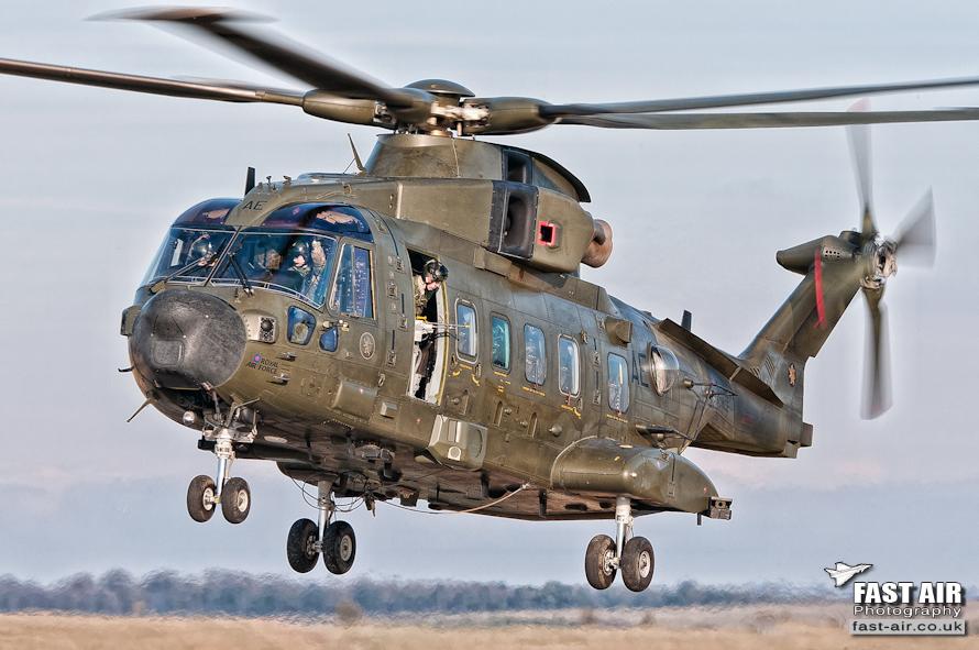 RAF Merlin HC3A ZJ998