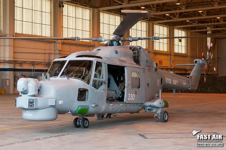 Royal Navy Lynx HMA8DAS XZ697