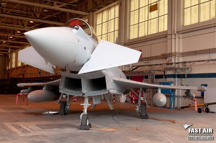 RAF Typhoon FGR4 ZK327 3 Sqn