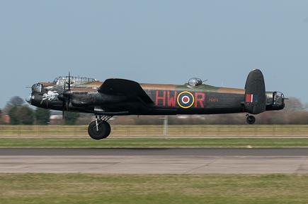 BBMF Lancaster B1 PA474