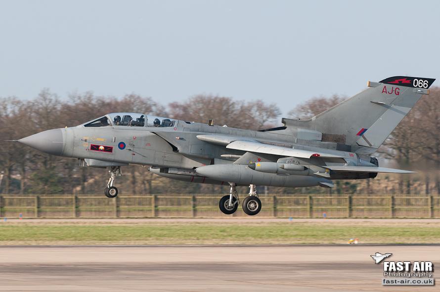 RAF Tornado GR4 ZA601 - 41(R) Sqn