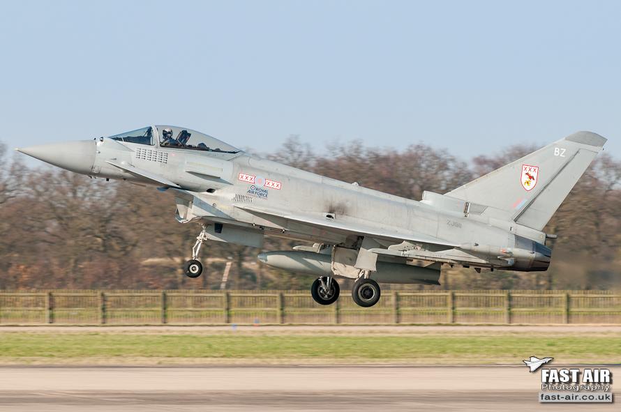 RAF Typhoon FGR4 ZJ911 - 29(R) Sqn