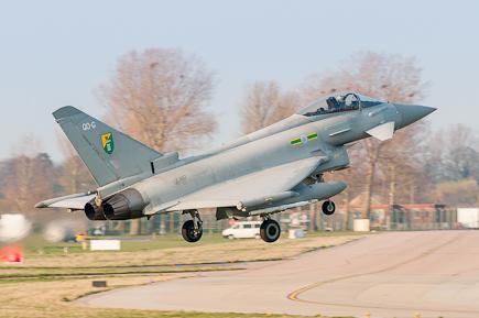 RAF Typhoon FGR4 ZJ917 - 3(F) Sqn
