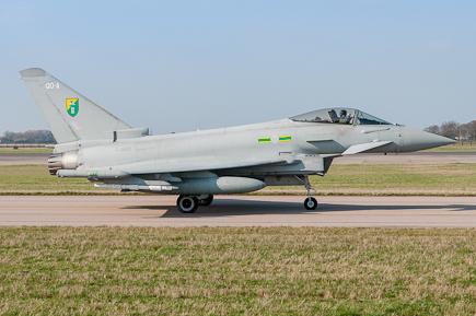 RAF Typhoon FGR4 ZJ920 - 3(F) Sqn