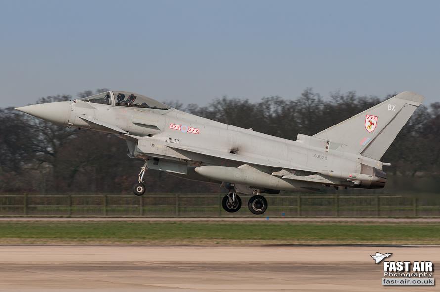RAF Typhoon FGR4 ZJ928 - 29(R) Sqn