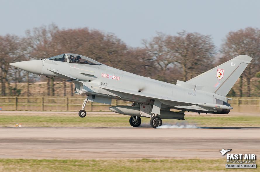 RAF Typhoon FGR4 ZK328 - 29(R) Sqn