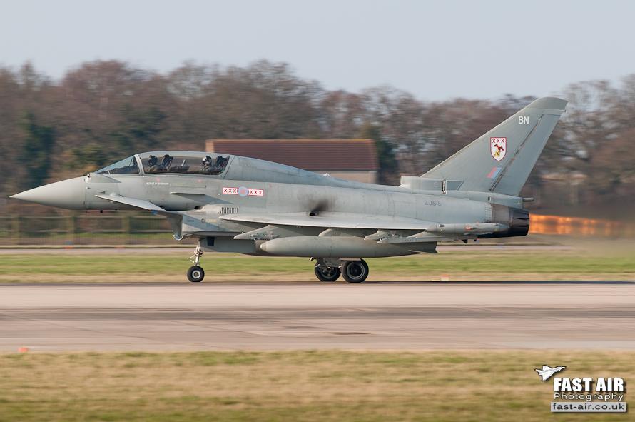 RRAF Typhoon T3 ZKJ815 - 29(R) Sqn