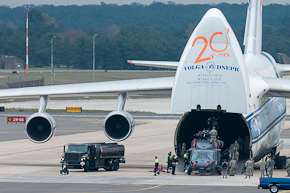 HH-60G Pave Hawk unloading from AN-124 #2