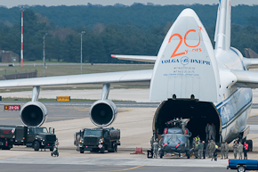 HH-60G Pave Hawk unloading from AN-124 #3