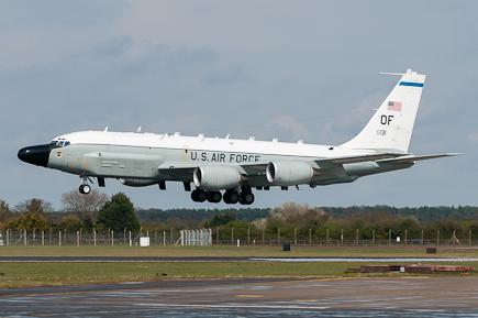 USAF RC-135W Rivet Joint 62-4131 - Snoop 55