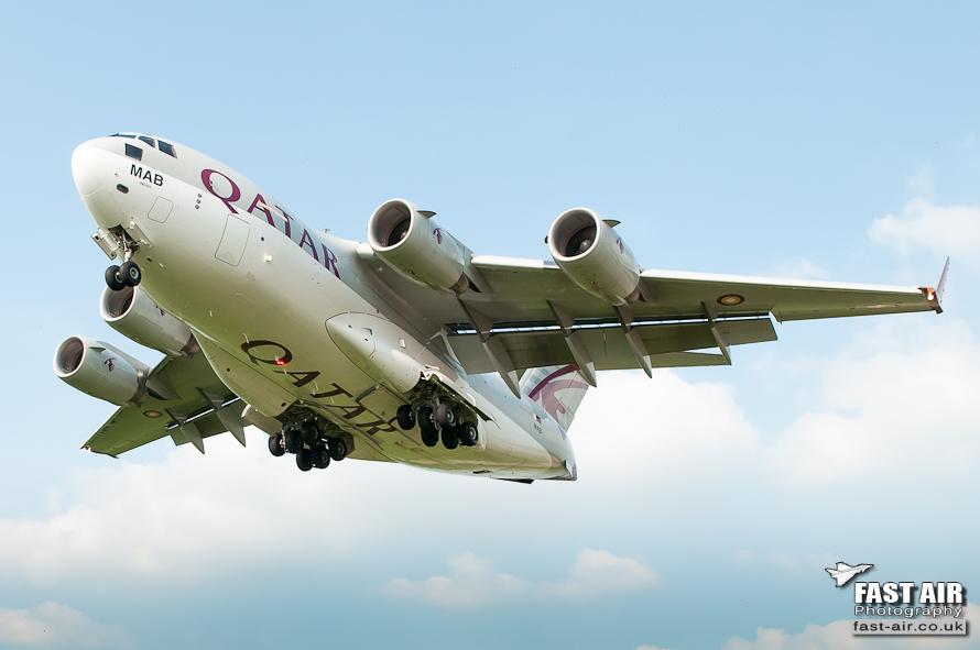Qatar C-17 A7-MAB