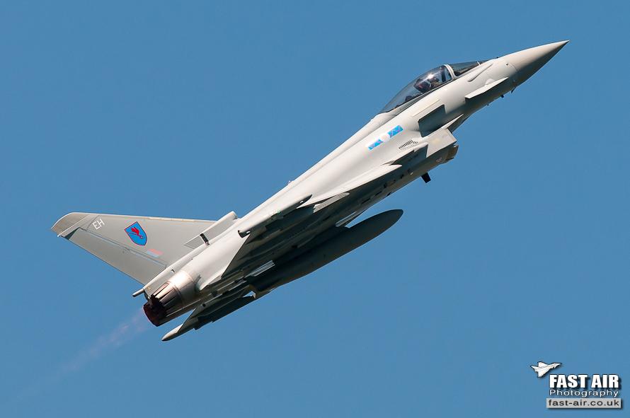 RAF Typhoon FGR4 ZK333