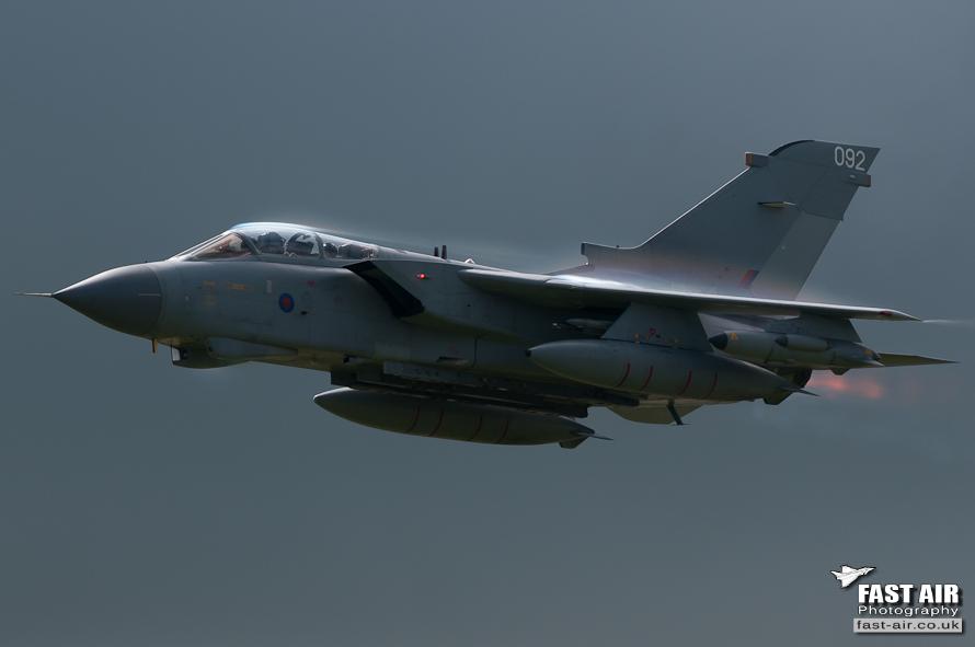 RAF Tornado Role Demo